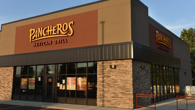 Pancheros Mexican Grill is getting ready to open on Louise Avenue north of 57th Street.