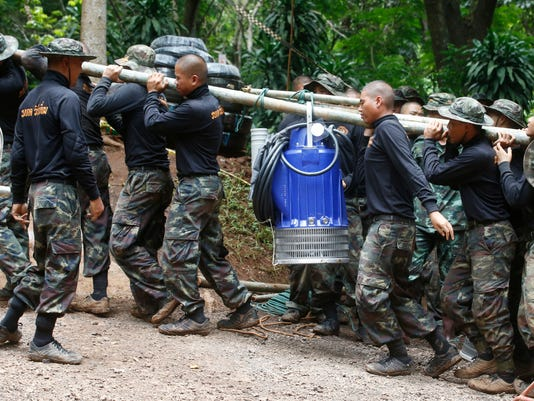 AP THAILAND CAVE SEARCH I THA