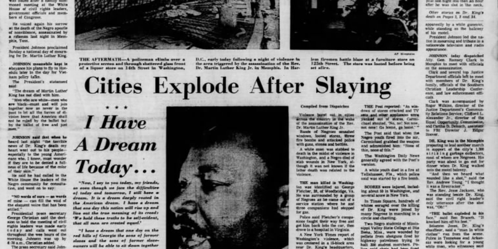 Wilmington Riots 1968: Cities explode after King slaying