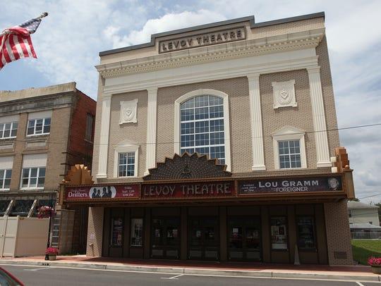 Millville Levoy Theater on North High Street in Millville.