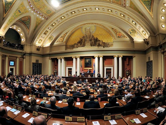 A joint session of the Legislature.