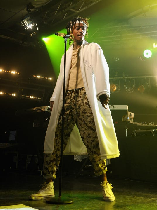 Wiz Khalifa Performs At The iHeartRadio Live P.C. Richard & Son Theater In New York City