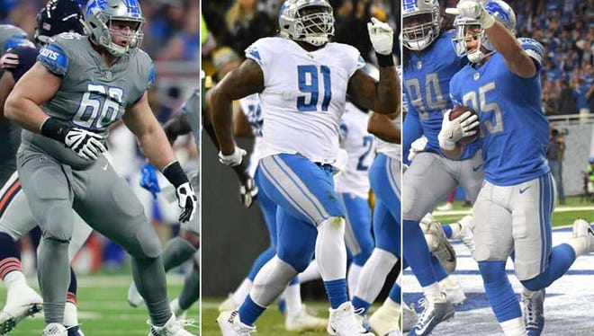 Lions players entering their third seasons include offensive lineman Joe Dahl, defensive tackle A'Shawn Robinson and safety Miles Killebrew.