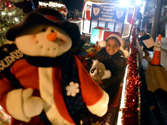 Staunton's annual Christmas parade in 2013.