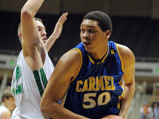 Carmel's AJ Hammons