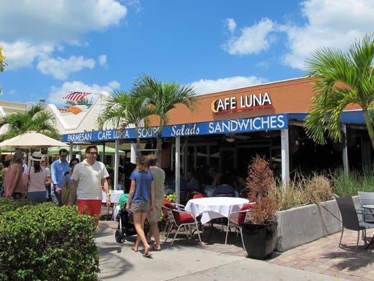 The original Cafe Luna on Fifth Avenue South closed in April to make way for a redevelopment project in downtown Naples.
