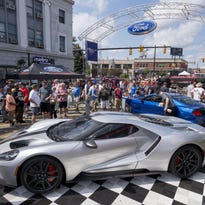Ford shows off its Dream Cruise muscle