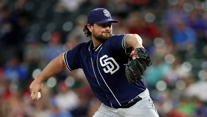 Kirby Yates has been pretty much unhittable for the Padres this season.