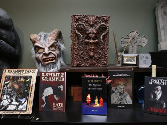 Krampus coloring books and gift items at Paranormal