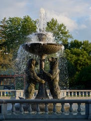 The Rackham Memorial Fountain at the Detroit Zoo is