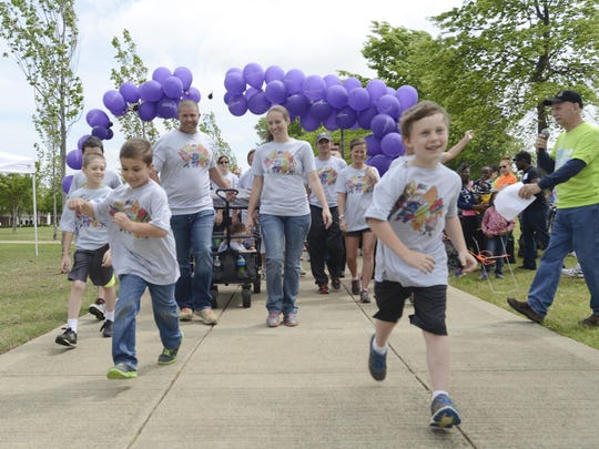 Union University's March of Dimes walk began with a 5K in 2015, and then a walk to help support the organization. Event staff said they believed they would surpass their goal of $142,000.