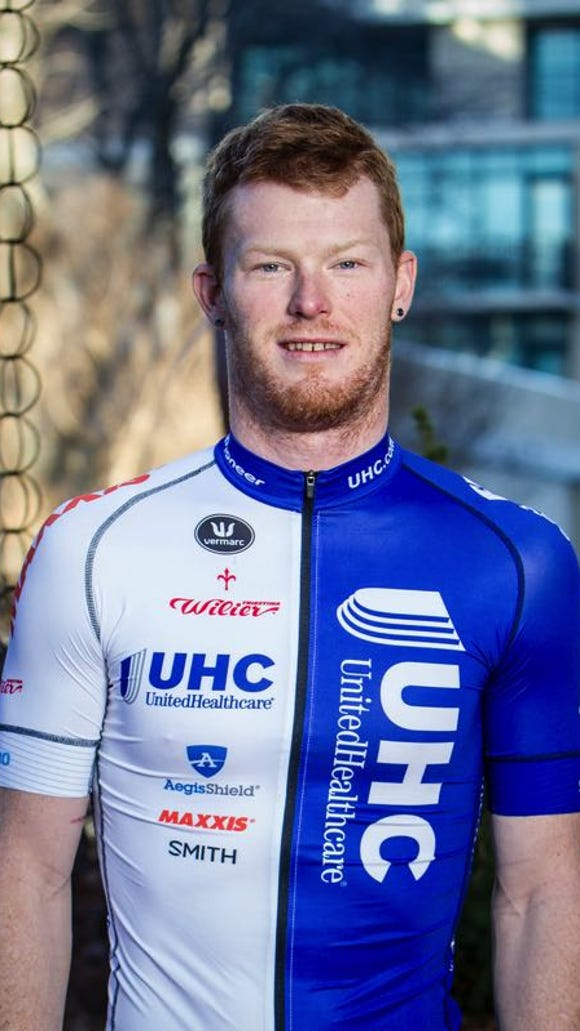 John Murphy of United Healthcare Pro Cycling will race in the Gran Fondo Asheville.