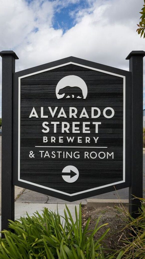 The new Alvarado Street Brewery & Grill's production