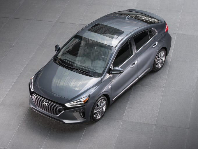 Hyundai Des Moines >> Hyundai shows new Ioniq hybrid, plug-in and electric