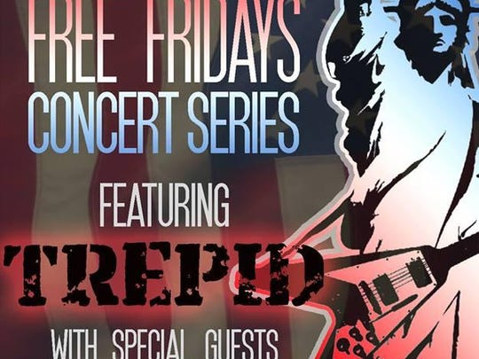 Trepid, a Shreveport band that blends the best sounds of heavy metal, grunge and classic rock, will bring a taste of Rust to the Red River District 7-10 p.m. Friday.