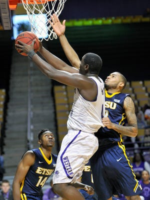 Torrion Brummit had a double-double for Western Carolina Thursday night.