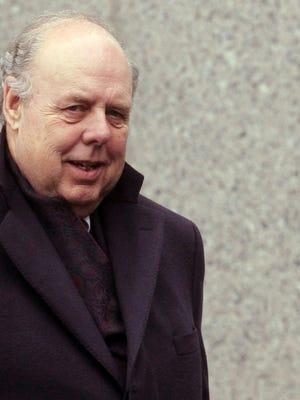 Attorney John Dowd departs Manhattan Federal Court March 23, 2011 in New York City.