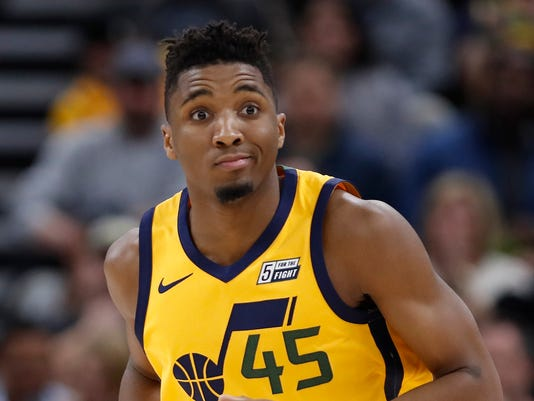 NBA: Los Angeles Clippers at Utah Jazz