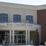 The Boone County Public Library's main branch is at 1786 Burlington Pike.