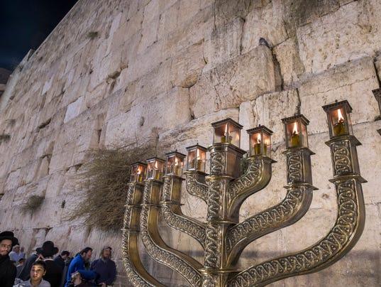 EPA ISRAEL HANUKKAH HOLIDAY ACE BELIEF (FAITH) CUSTOMS & TRADITIONS ISR