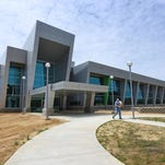 A modern blend of glass and steel, the new Mississippi Crime Laboratory off Mississippi 475 in Rankin County bears little resemblance to the facility it replaces.