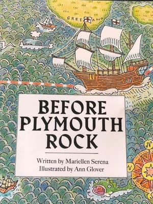 """The cover of """"Before Plymouth Rock"""" by Mariellen Serena"""