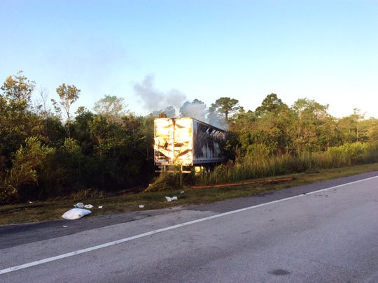 A fatal truck crash happened shortly after 6 a.m. Tuesday
