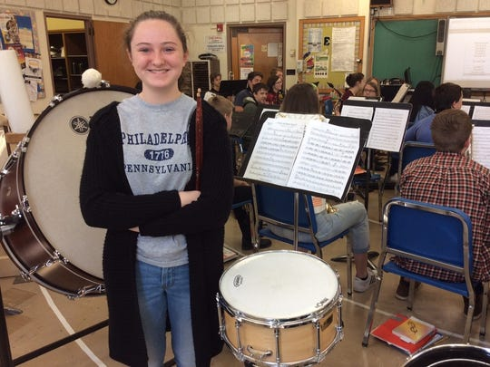 Sophia Winowiski was selected as a band/orchestra alternate for the Wisconsin School Music Association State Honors Music Project.