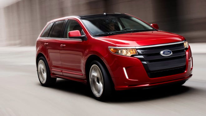 "A 2011 Ford Edge Sport: There have been 1,560 reports of the ""door ajar"" light on the instrument cluster staying on all the time in 2011 to 2013 Ford Edge crossovers."