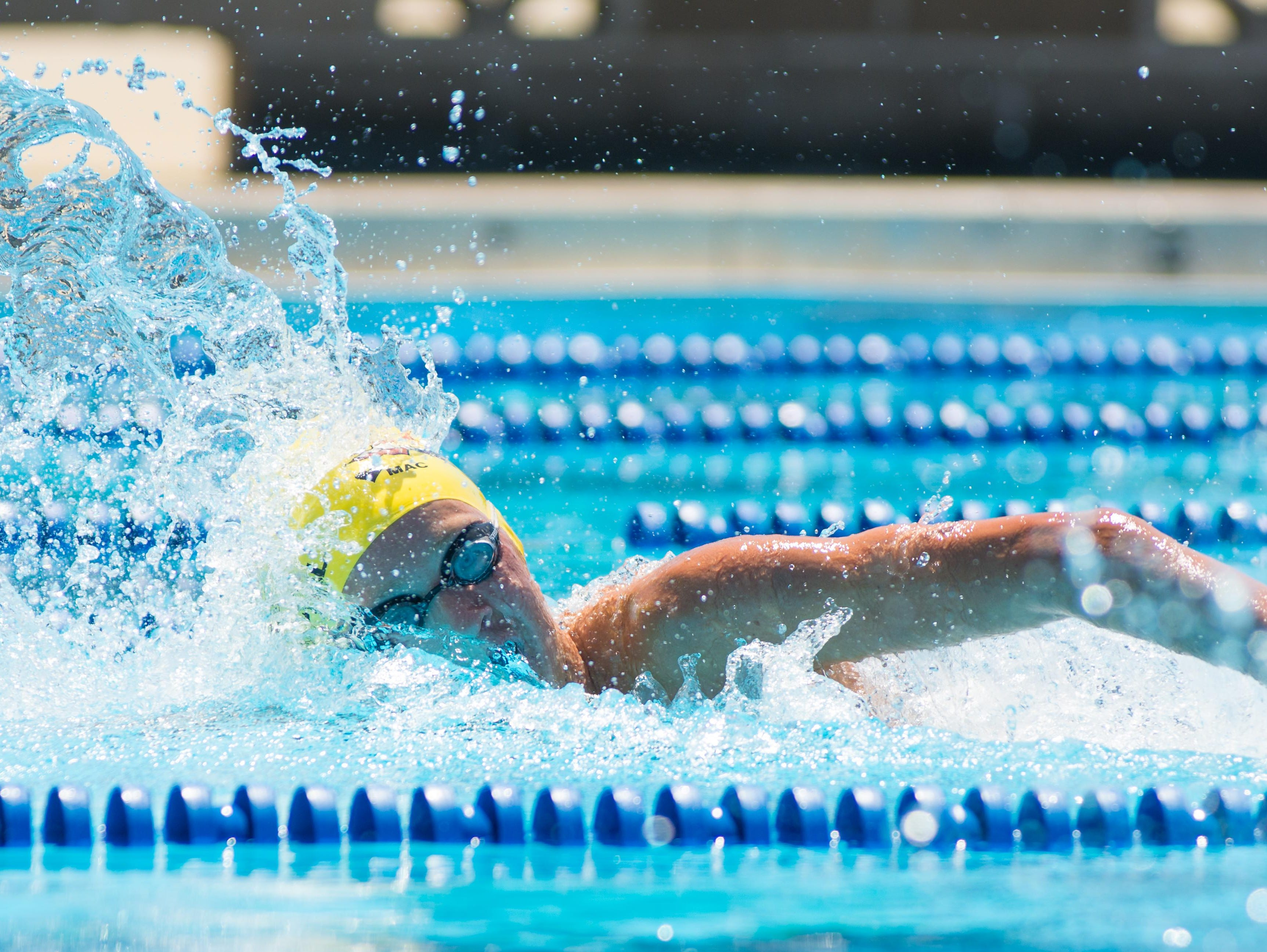 Chiles sophomore John Yambor-Maul has learned to love swimming, which coincides with a rise towards excellence.
