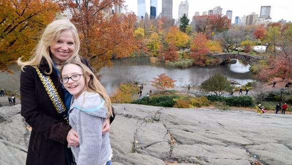 Charline at Central Park.