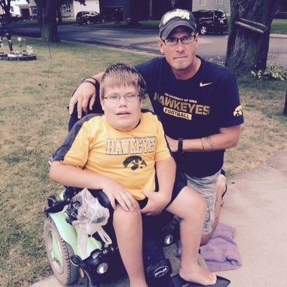 Brad Gentz of Osage plans to push his new friend Ryan