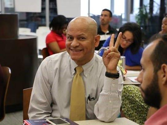 Cesar Escurra, Spanish teacher/Plainfield High School