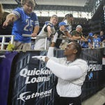 Fans flock to Ford Field to watch Lions practice, handicap this season