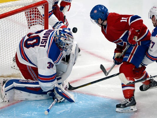 Rangers Canadiens Hockey