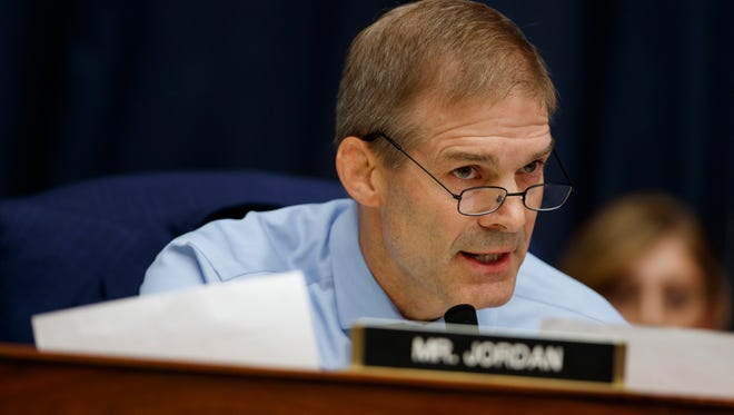 Conservative Rep. Jim Jordan is running for House Speaker. Jordan has come under scrutiny as part of an ongoing investigation into sexual misconduct by the former wrestling team doctor at Ohio State University. Some players say Jordan knew of the abuse and failed to report it. Jordan has said he did not know.