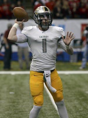 Calvary quarterback Shea Patterson is the No. 1 quarterback is class of 2016, according to Scout.com