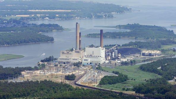 The Indian River Power Plant near Millsboro.