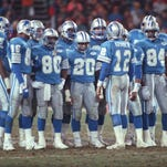The Lions marched all the way to the NFL title game in the 1991 season.