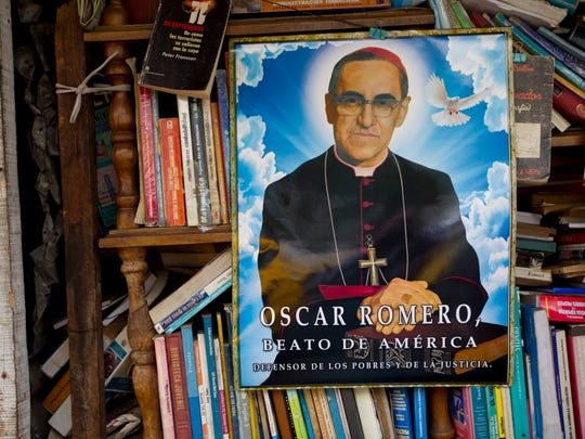 A portrait of Roman Catholic Archbishop Oscar Romero