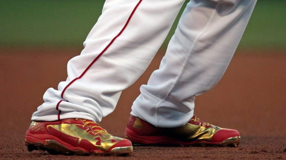 Todd Frazier's MLB All-Star Game shoes.