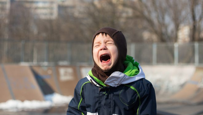 What to do about a toddler's tantrums? (Dreamstime)