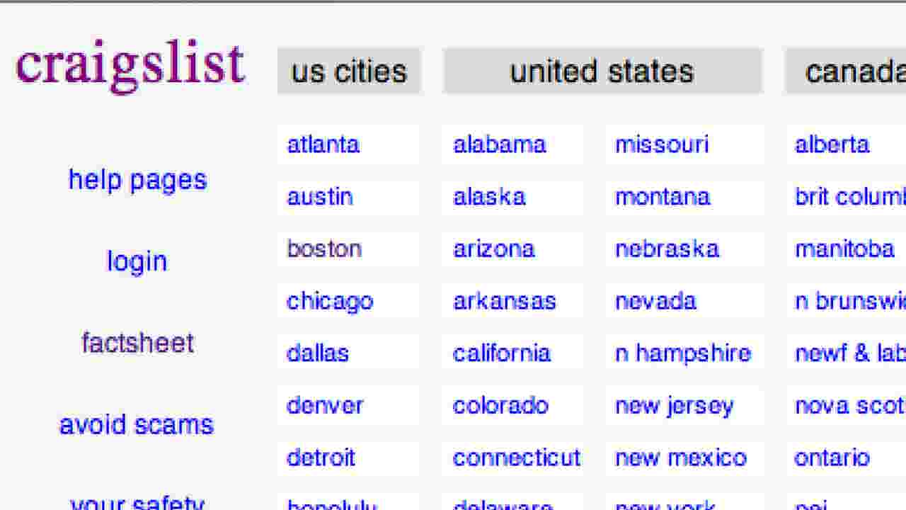 Craigslist Shuts Down Its Personals Ads After Congress Passes Fosta