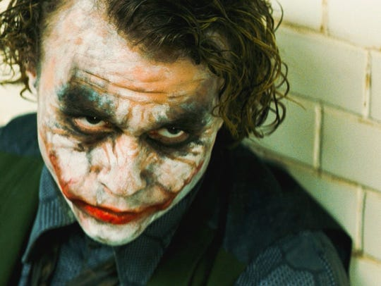 "Heath Ledger as the Joker in ""The Dark Knight"" is perhaps"
