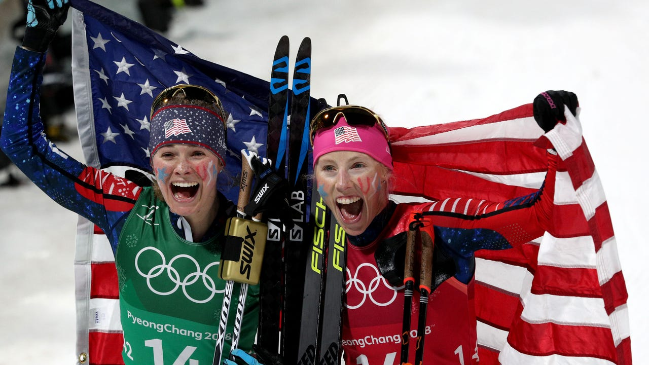 Women's cross country gold medalists on motherhood and competition