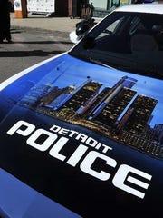 Detroit Police vehicle.