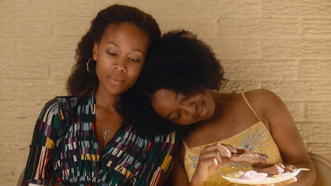 "Nicole Beharie stars as Turquoise and Alexis Chikaeze plays her daughter, Kai, in ""Miss Juneteenth,"" screening July 24 at UNCW as part of the Curbside Cinema drive-in movie series."