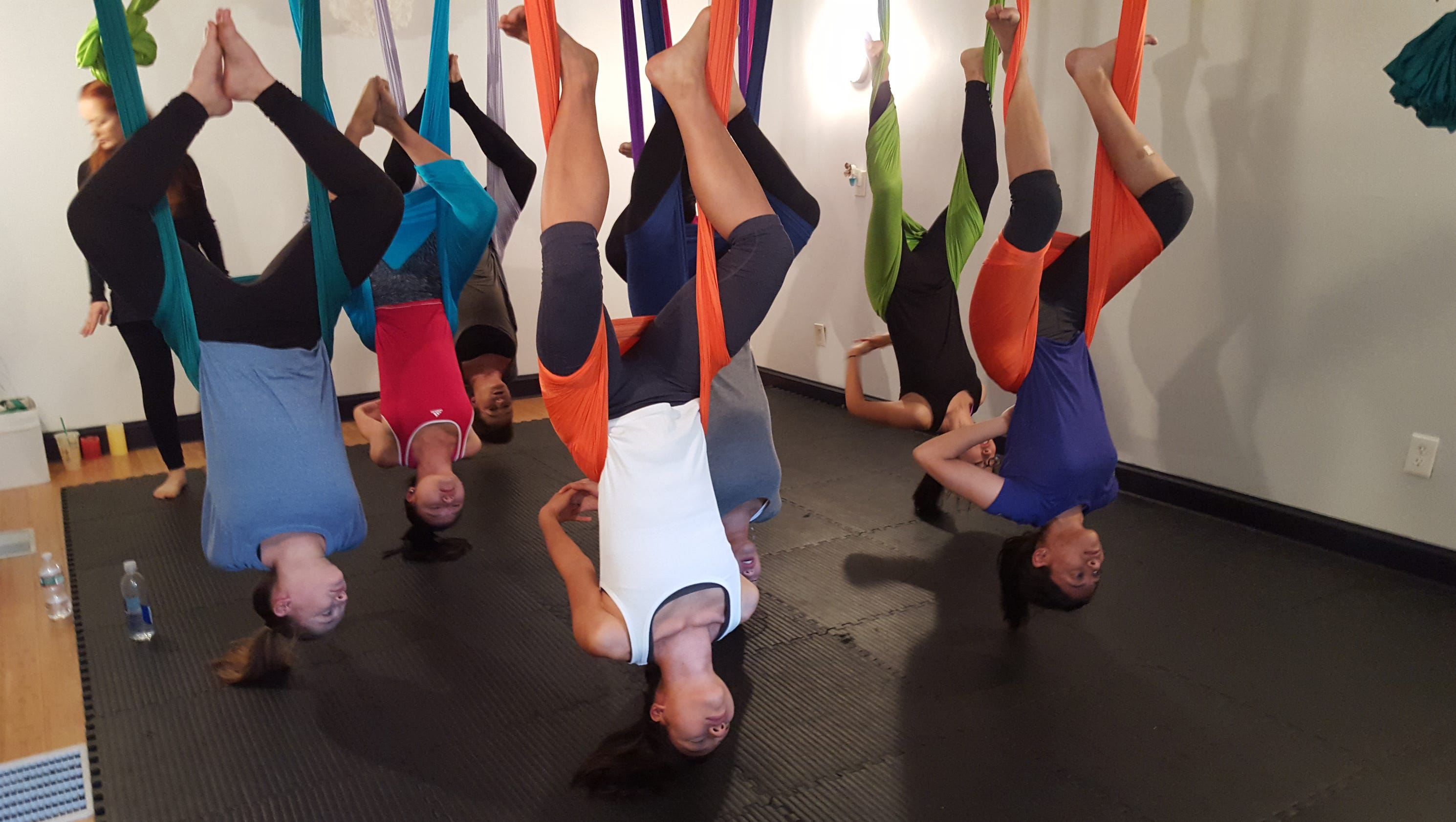 how to fly in air by yoga