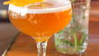 Manhattan in the Fall features Evan Williams Bourbon,