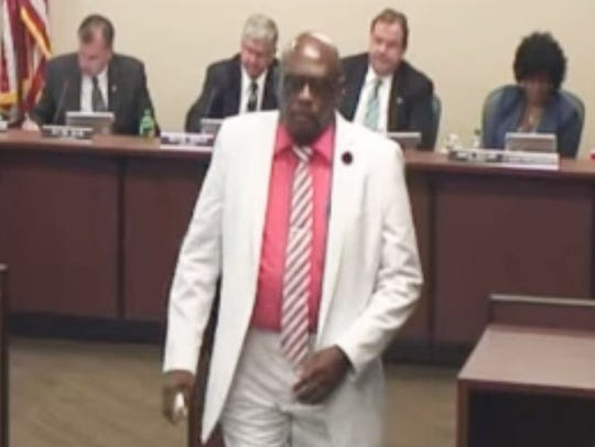 Larry Russell Dawson, from video of the Tennessee Board